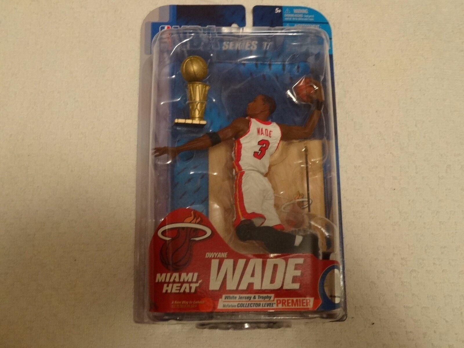 DWYANE WADE Miami Heat NBA Series 17 McFarlane Variant Weiß Premium  63 250