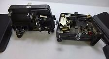 Qty 2 Vintage Lenco Photo Products 810D 8mm Projectors - For Parts / Untested