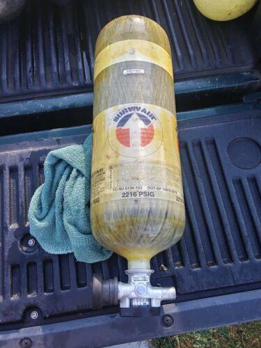 Survivair 30 MIN 2216 PSIG SCBA Carbon Tank Cylinder 2005 tested in 11//2010