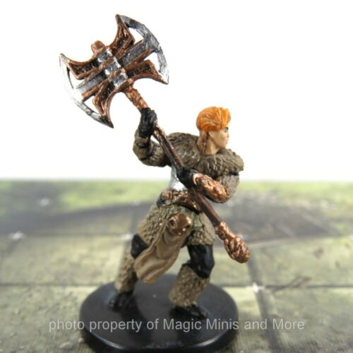 Waterdeep Dungeon of Mad Mage ~ BERSERKER #17 Icons of the Realm D&D miniature