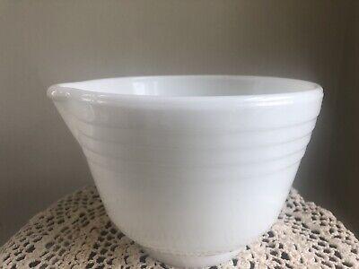 White Mixing Bowl Hamilton Beach Mixing Bowl White Ware Pyrex Bowl Quart Bowl White Bowl Mixer Bowl