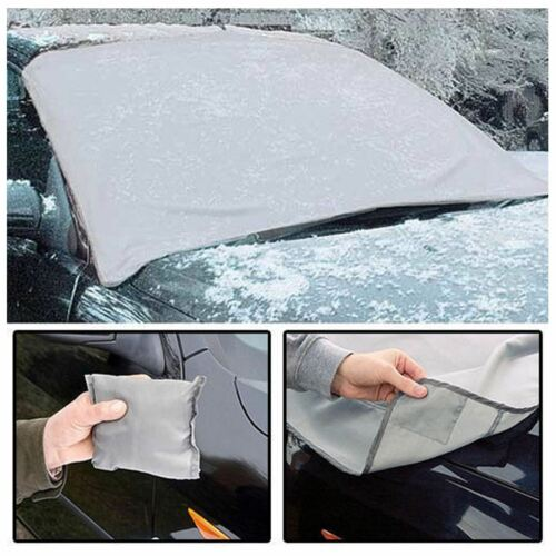 Magnetic Car Windscreen Cover Ice Frost Shield Snow Dust Protector Sun Shade Van