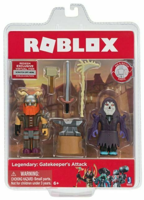 Rare ROBLOX Merely Series 2 Action Figure Amazing Boy Toy Gift No code weapon