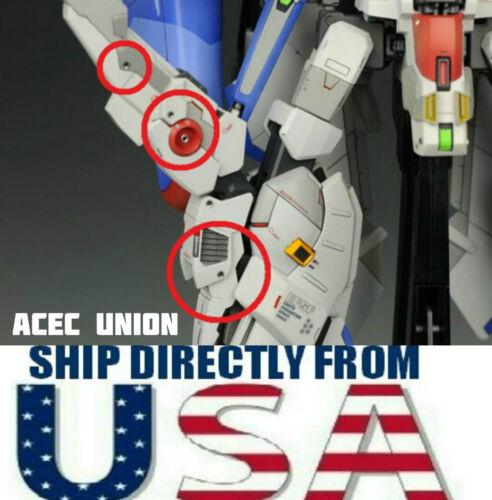 Metal Detail Up 1.6mm Air Hole Parts Set For Bandai MG HG Gundam U.S.A SELLER