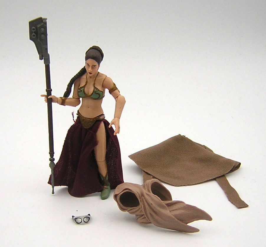 Star Wars Loose Princess Leia ( Slave Sandstorm Outfit ) VC88 Vintage Collection