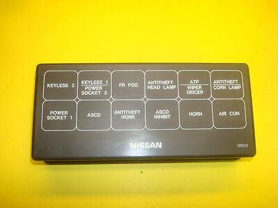 Fuse Box Diagram For 96 Nissan Pickup - Wiring Diagram