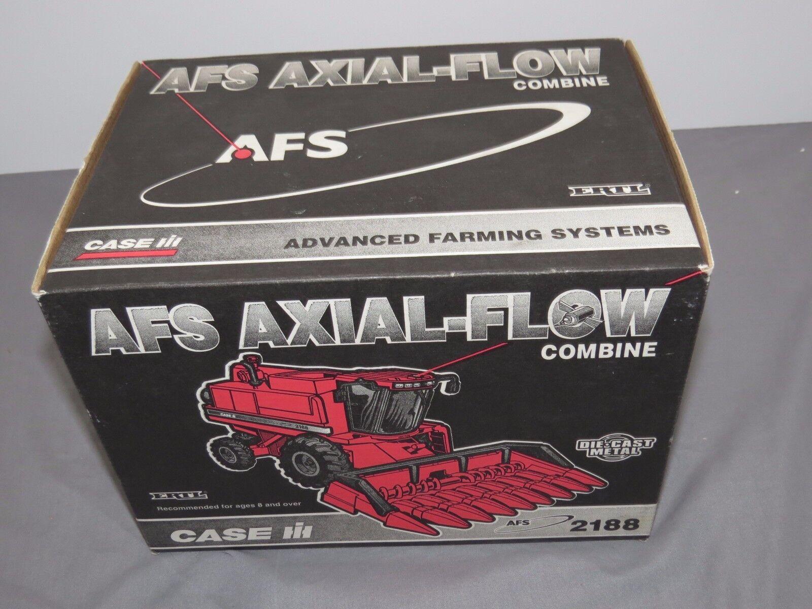 Case IH 2188 flujo axial axial axial combinan Por Ertl Nuevo en Caja, gran forma dos Cabeza Nuevo en Caja d0e3f0