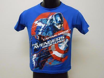 Neu Marvel Avengers Cpt America Jugend Größe L L 14/16 Hemd 69mr