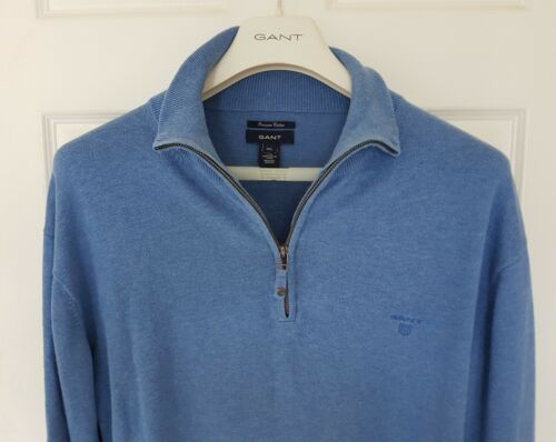 Mens Immaculate 4 Jumper Rrp Zip 1 2xl sweater Gant £165 Size Funky FqCHwzrF