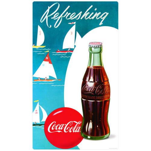 Large COCA COLA Coke Vintage Weathered Advertising Metal Tin New 40x21.6cm 1235