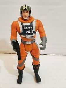 Star Wars Luke Skywalker X Wing Pilot With Blaster Loose