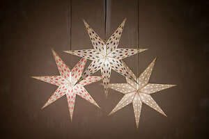 Hanging Christmas Decorations Ceiling.Details About Spirit Paper Star Light Shades Hanging Ceiling Lampshades Christmas Decorations