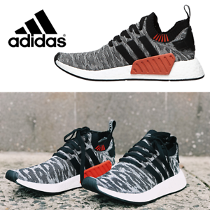 Adidas Boost NMD_R2 PRIMEKNIT SHOES BY9409 100% AUTHENTIC