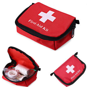 Emergency-Medical-Empty-Bag-First-Aid-Pack-Survival-Outdoor-Rescue-Kit-Red-Color