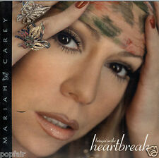 MARIAH CAREY - BRINGIN' ON THE HEARTBREAK / MISS YOU 2003 CARD SLEEVE W/ STICKER