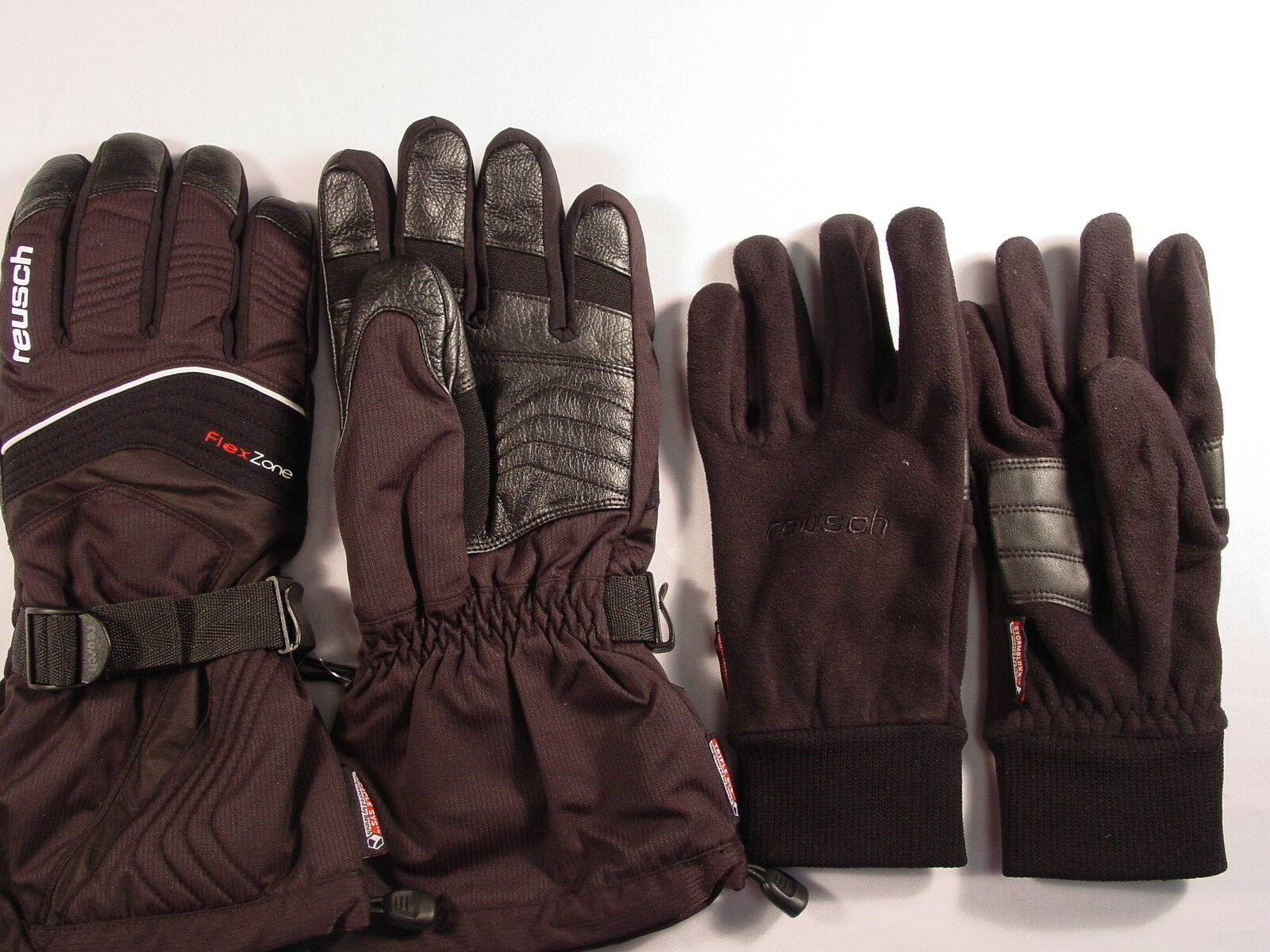 Reusch Ski Gloves Medium RLoft ThermoPro 3in1 Ski Gloves w/ Liners Medium Gloves 8.5 4002105 44f83a