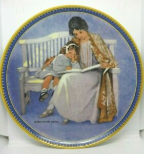 Edvin-M-Knowles-Mother-039-s-Day-Jessie-Wilcox-Smith-5th-Issue-Plate