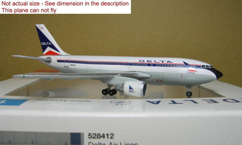 ganancia cero 1 500 Herpa Ala Delta A310-200 N805PA N805PA N805PA  528416 Avión de Metal Fundido  ¡envío gratis!