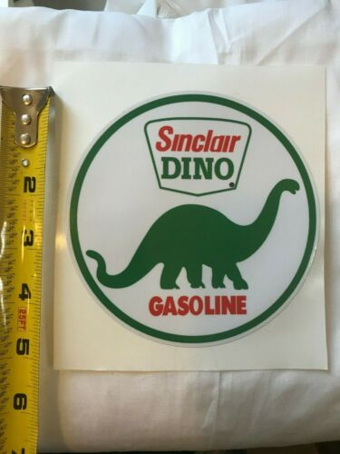 """FREE SHIPPING 5/"""" SINCLAIR DINO DECAL NEW gas pump decals *GAS /& OIL"""