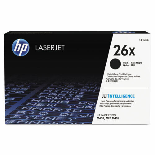 HP 26X (CF226X) High Yield Black Original LaserJet Toner Cartridge Brand New