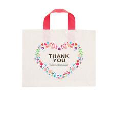 50 Pcs Thank You Plastic Merchandise Shopping Bagsboutique Bagsretail