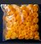 5 x  ORANGE HINGED PLASTIC SCREW COVER CAPS FIT SIZE 6-8 GAUGE SCREWS