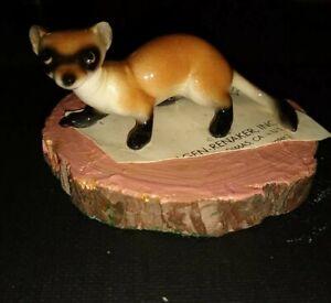 Hagen renaker 1986 Porcelain Black-footed Ferret Vintage