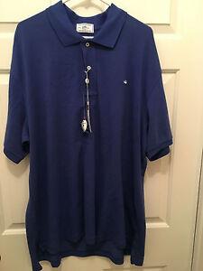 NWT University of Virginia UVA Cavaliers Southern Tide Blue Polo Shirt Small