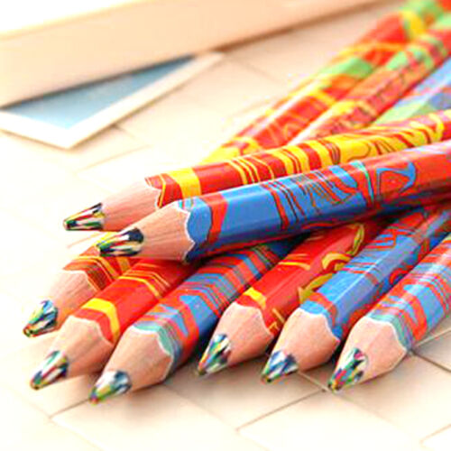 High Quality 10pcs//Lot Colored Pencils Color Pencils School Kid Children Drawing