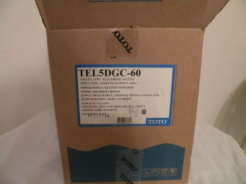 TOTO TEL5DGC-60 Chrome GSNK THERMAL MIX DC FAUCET 60 SEC DISCHARGE TEL76GV100