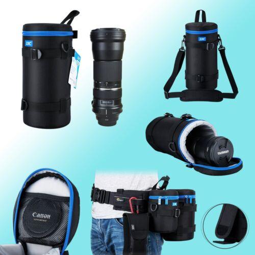 Bolsa de lente de 124x310mm Resistente al Agua Acolchado Suave Tamron SP150-600mm JJC DLP-7II