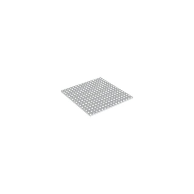 Lego - Plaque BLANC WHITE Plate 16X16 - 4618526 - 91405