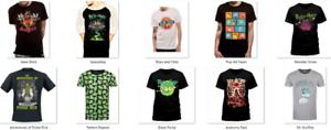 Officiel-Rick-and-Morty-T-Shirt-Neuf-Divers-designs-et-tailles-Unisexe