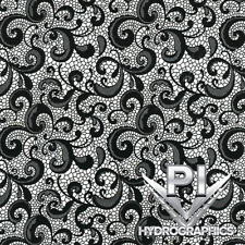 Hydrographic Film Hydro Dipping Water Transfer Printing Film Black Lace Dd948