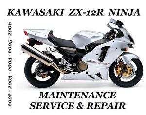 Kawasaki-ZX12R-Ninja-Service-Repair-Manual-ZX-12R-ZX-1200-Maintenance-2002-2006