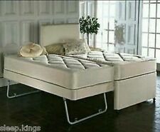 3ft Single 3 In 1 Guest Bed With Under Trundle Mattresses Headboard