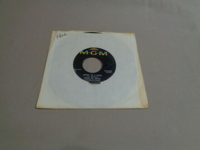 "Twice as Much - Sittin' on a Fence - MGM 7"" Vinyl 45 - 1966 - NM-"