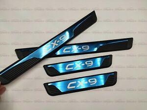 für Mazda CX9 Zubehör Teile Einstiegsleisten Beschützer Scuff Plate Türrahmen 20