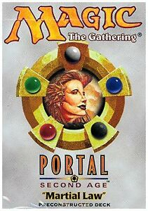 Portal second age Theme Deck les Nightstalkers NEW MAGIC MTG abugames anglais