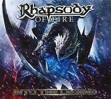 Into the Legend [Digipak] by Rhapsody of Fire (CD, Jan-2016, AFM (USA))