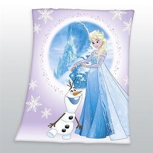 Decke-Eiskoenigin-Frozen-Elsa-und-Olaf-110-x-140-cm