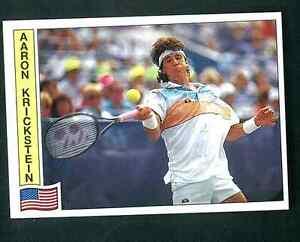 Aaron-Krickstein-USA-Tennis-1992-Edizioni-Panini-MINT-n-97-Rookie