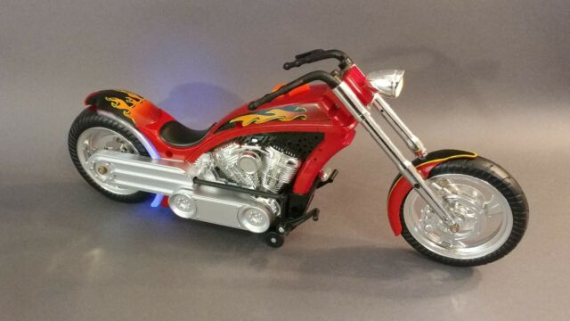 Toy State Motorcycle Chopper Battery Operated Bike For Sale Online Ebay