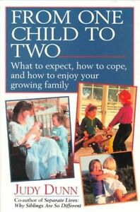 From-One-Child-to-Two-Dunn-Judy-Used-Good-Book