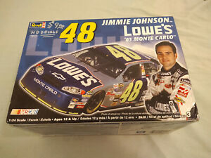 Revell 1:25 #48 Johnson NASCAR Plastic Model Kit #85-2898 ...