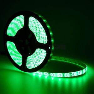 Green-5M-16-4ft-Waterproof-300-LED-5630-SMD-Flexible-LED-Light-Lamp-Strip-DC-12V
