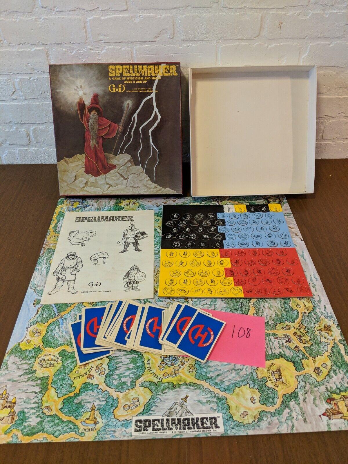 Muy raro ¡Muy raro Mago misterioso y juego de de de tablero mágico 1978 terminado. a24