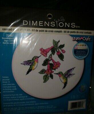 cross stitch kit C HUMMINGBIRD