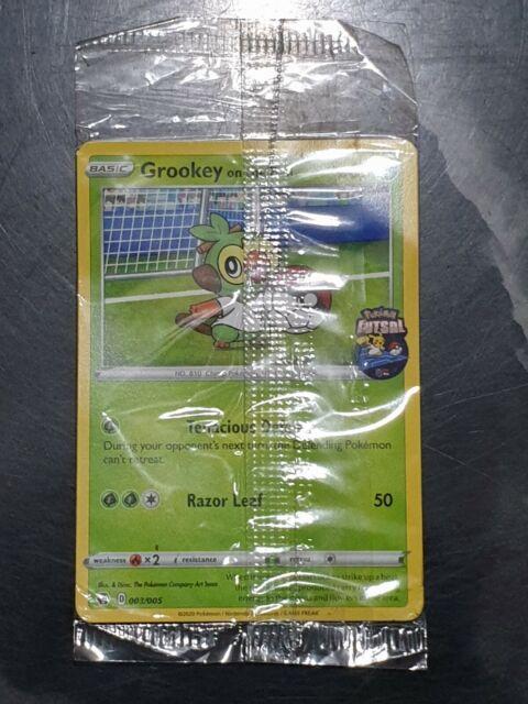 Pokemon card Grookey on the Ball 003/005 Pokemon Futsal Mint sealed