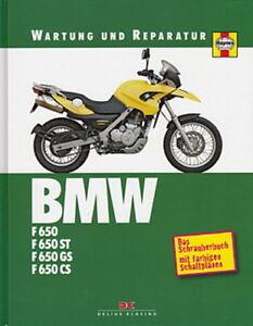 Auto & Motorrad: Teile WunderschöNen Bmw F650 St/gs/cs Wartung & Reparaturanleitung/reparatur-buch/handbuch/pflege Sachbücher